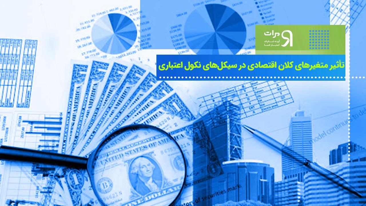 تأثیر متغیرهای کلان اقتصادی در سیکلهای نکول اعتباری در بازار متشکل پولی کشور