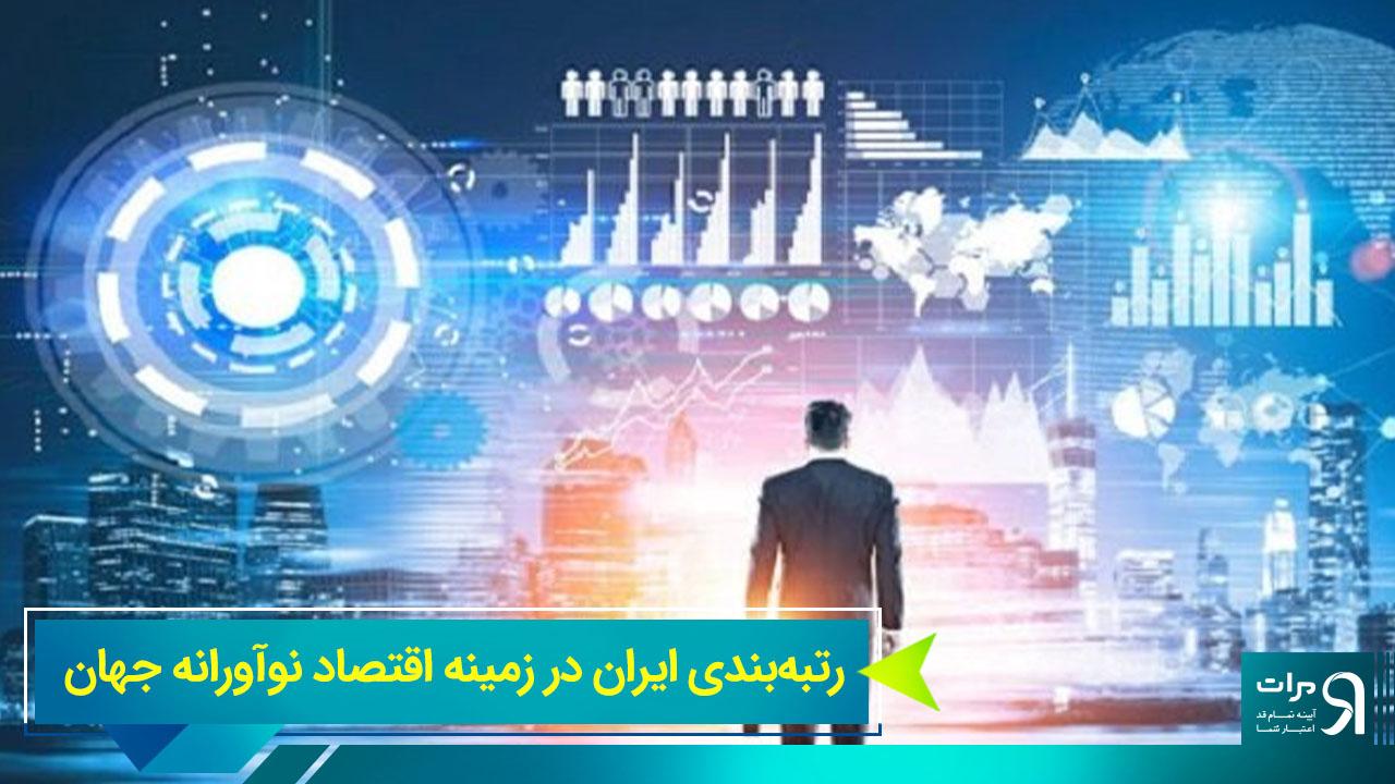 رتبهبندی ایران در زمینه اقتصاد نوآورانه جهان